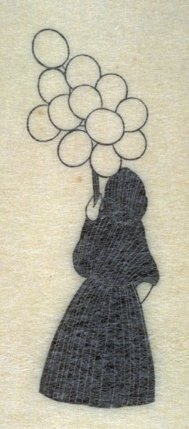 Woman with Balloons, pl. 90: G. 106: