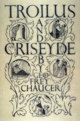 Title page: Troilus and Criseyde, pl. 97: G. 192: