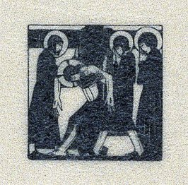 Body of Jesus Taken Down from the Cross, pl.28: D. 98: