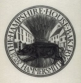 Hog and Wheat Sheaf, pl. 3; D. 29;