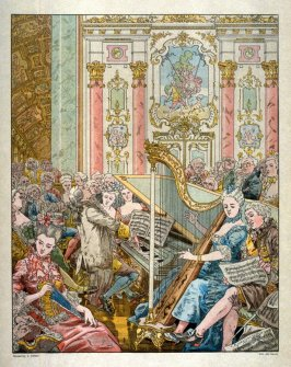 (Concert at French court)