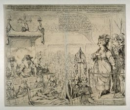 The heroic Charlotte la Corde, upon her Trial, at the bar of the Revolutionary Tribunal of Paris, July 17, 1793
