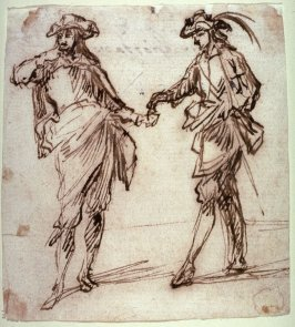 Two Courtiers
