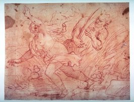 Recto:Pan and Syrinx