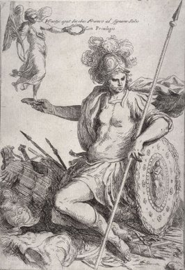 The Tutelary Goddess of the City of Rome, from the series Principles of Drawing