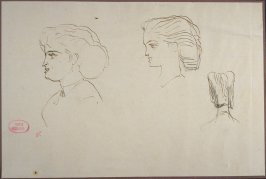 Portrait Studies of a Young Woman