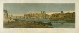 View of the Pont Neuf, from 'A Selection of Twenty of the most Picturesque Views in Paris, and its environs, drawn and etched in the year 1802, by the late Thomas Girtin'
