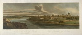 A general view of Paris taken from Chaillot, from 'A Selection of Twenty of the most Picturesque Views in Paris, and its environs, drawn and etched in the year 1802, by the late Thomas Girtin'