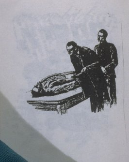 Untitled, two men looking at man lying on table in the book, Untitled ( i felt your eyes, etc.)([no publisher]:1992)