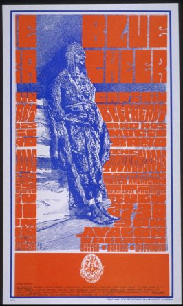 """Smiling Hun,"" Blue Cheer, Captain Beefheart and His Magic Band, Youngbloods, July 27 - 30, Avalon Ballroom"