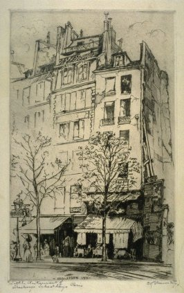 Little Restaurant of Thackeray's Schooldays Paris