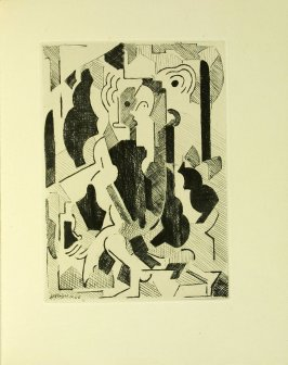 L'écolier (the schoolboy) by Albert Gleizes in the book Du cubisme (Paris: Compagnie Française des Arts Graphiques, 31 July 1947).