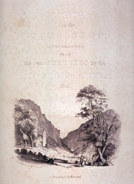 Views on the Continent (title page)