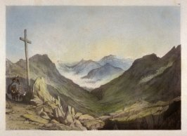 Col du Bonhomme, plate 12 from Views on the Continent