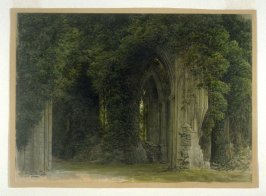 Part of an Ivy-Clad Ruined Abbey