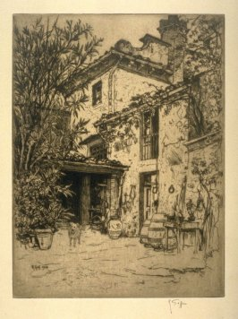 Tuscan Farmhouse, 1908