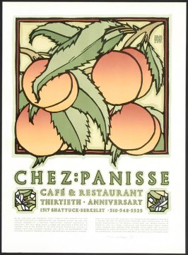 Chez Panisse Cafe and Restaurant 30th Anniversary