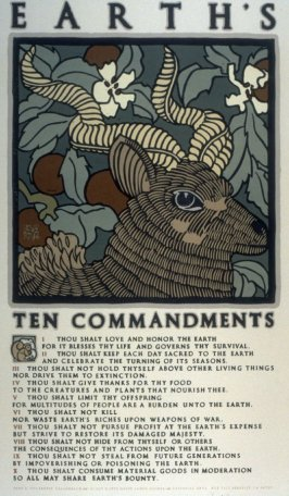 Earth's Ten Commandments