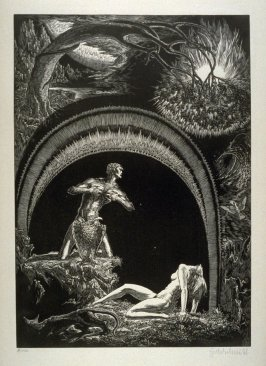 Der Sundenfall (The Fall) - Plate 4 from the portfolio Die Bibel (The Bible)