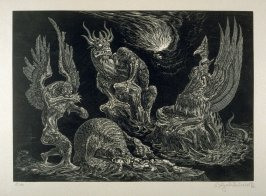 Daniels Traumgesicht (Daniel's Dream)- Plate 20 from the portfolio Die Bibel (The Bible)