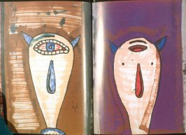 Plates 5 and 6 in the book Buk by Gary Goldstein (Jerusalem Foundation: 1991)