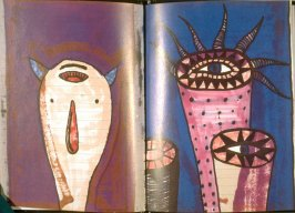 Plates 7 and 8 in the book Buk by Gary Goldstein (Jerusalem Foundation: 1991)