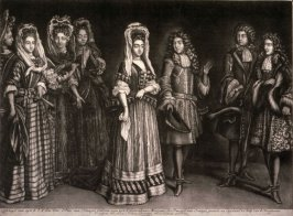 William and Mary and Members of the Court