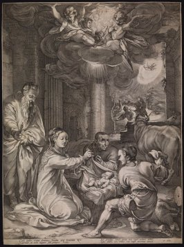 The Adoration of the Shepherds from the Life of the Virgin