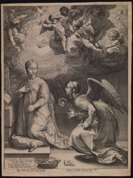 The Annunciation from the Life of the Virgin