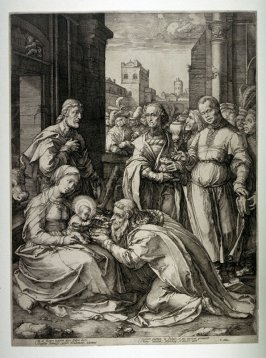 The Adoration of the Magi from the Life of the Virgin