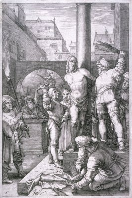 The Flagellation from The Passion