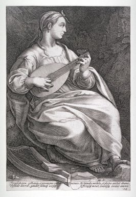 Terpsichore from The Nine Muses