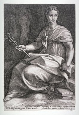 Polyhymnia from The Nine Muses