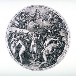 The Division of Good and Evil from The Last Judgment