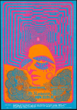 """Optical Occlusion,"" Big Brother and the Holding Company, Mt. Rushmore, November 23 - 25, Avalon Ballroom"