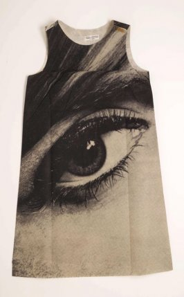 """Eye"" disposable dress"