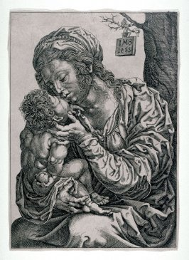 Virgin Embracing the Infant Jesus