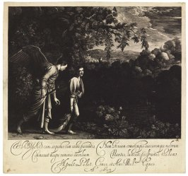 Tobias, with the Angel, Dragging the Fish (The Large Tobias)