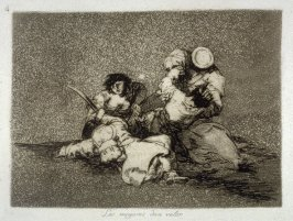 Las mugeres dan valor (The Women Give Courage), pl. 4 from the series Los desastres de la guerra (The Disasters of War)