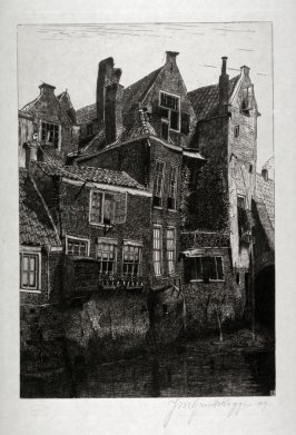 Old Houses in Dordrecht