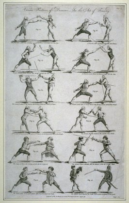 Various Positions of Disarms-See the Art of Fencing