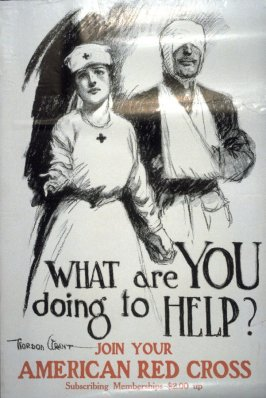 What Are You Doing to Help? - World War I Poster