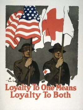 Loyalty To One Means Loyalty To Both - World War I Poster