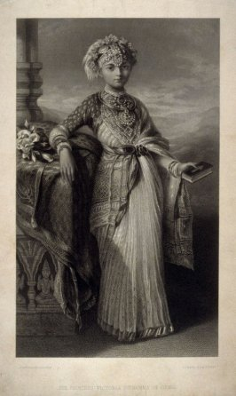 The Princess Victoria Gouramma of Coorg