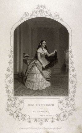 Miss Fitzpatrick as Katharina in Taming of the Shrew by William Shakespeare