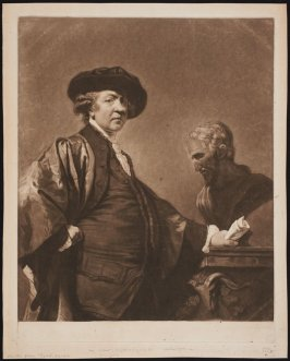 Portrait of Sir Joshua Reynolds