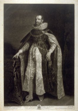 Portrait of Henry Danvers, Earl of Danby. In the Marble Parlour at Houghton