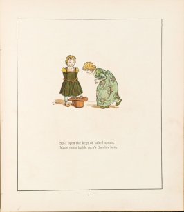 Illustration on page 9 in the book The Pied Piper of Hamelin by Robert Browning (London and New York: Frederick Warne, [1888])