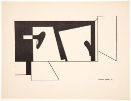 Untitled (Abstract), from The American Abstract Artists Portfolio: Exhibition April 3-17, 1937