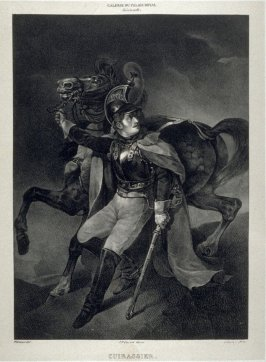 Le Cuirassier...thirtieth plate in the book... Galerie lithographiée de son Altesse royale Monseigneur le Duc d' Orléans (Paris: Bureau de la Galerie … [1830?]), vol. 1